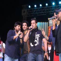 salmaan with Sajid- wajid